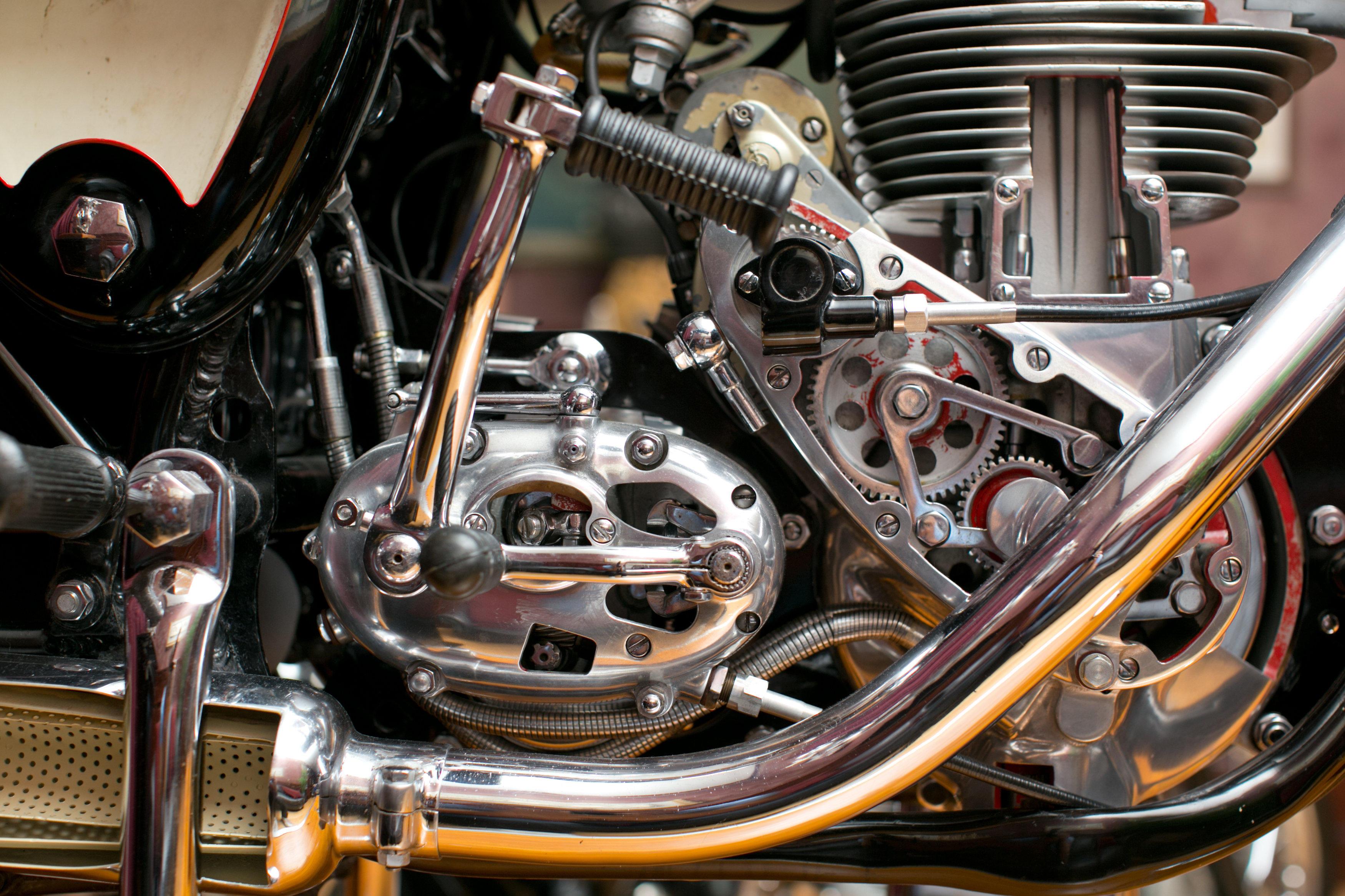 Used Motorcycles Las Vegas >> BSA Gold Star cutaway motorcycle | OilySmudges