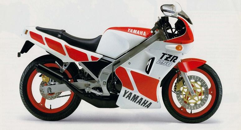 1986 Yamaha TZR 250