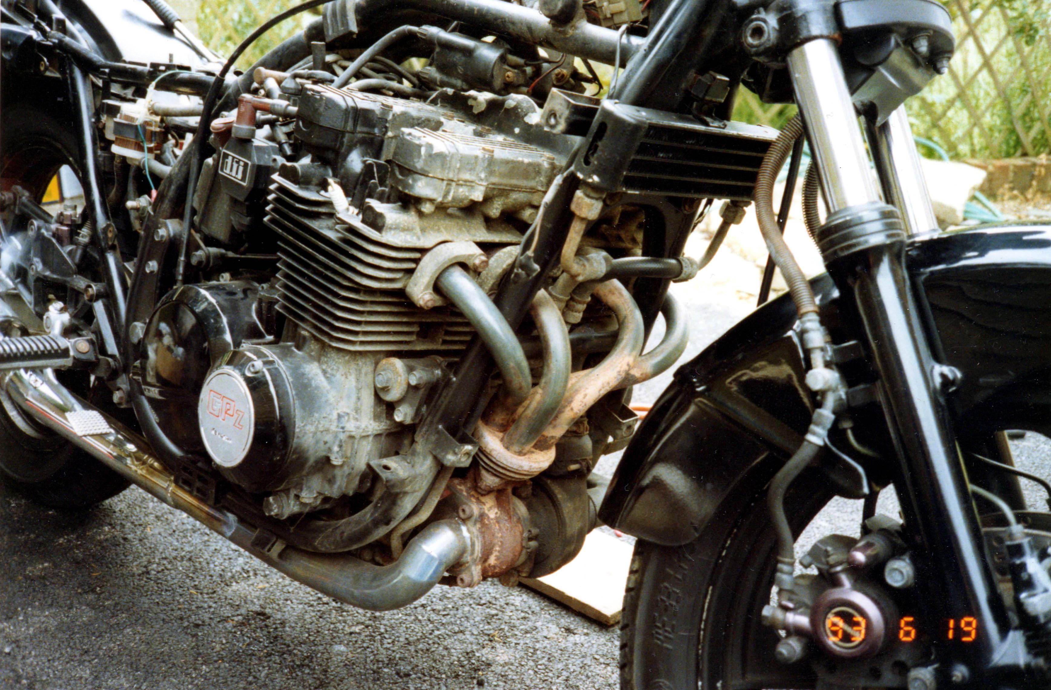 Engine - pre-restoration