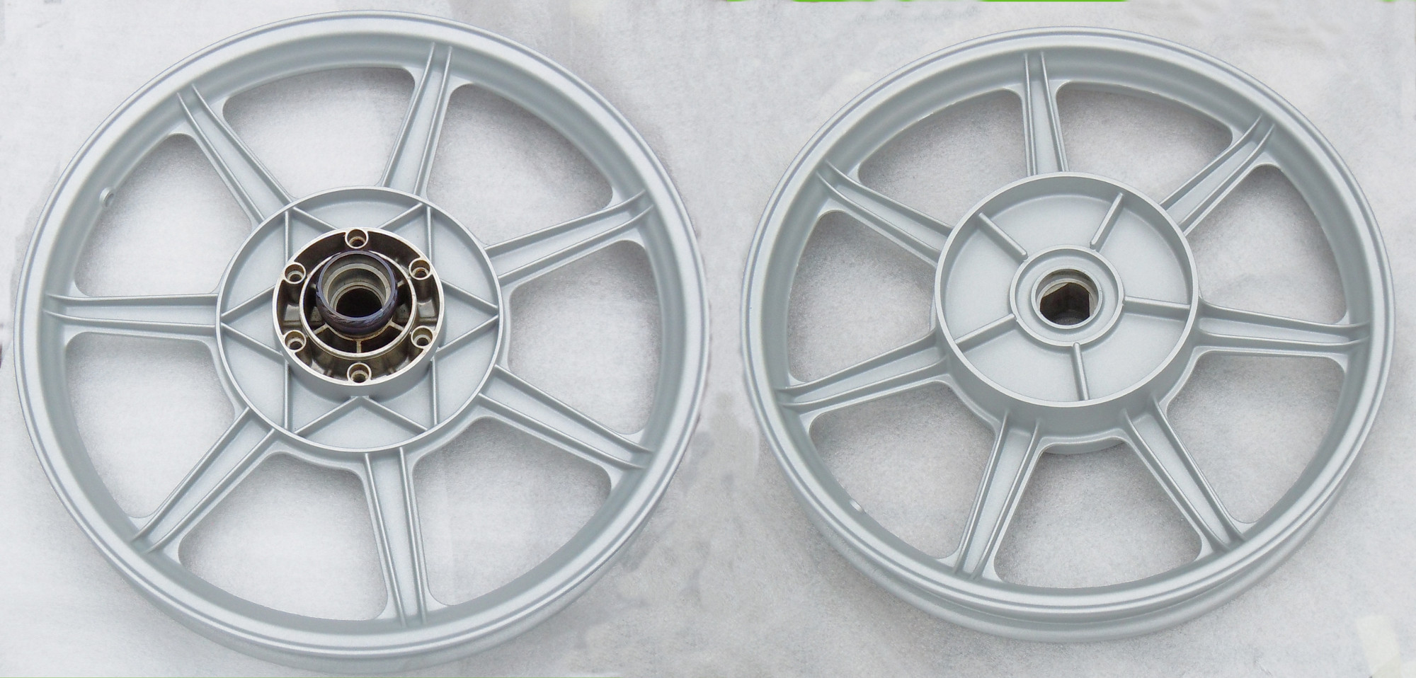 Wheels - Mercury Silver with a satin finish