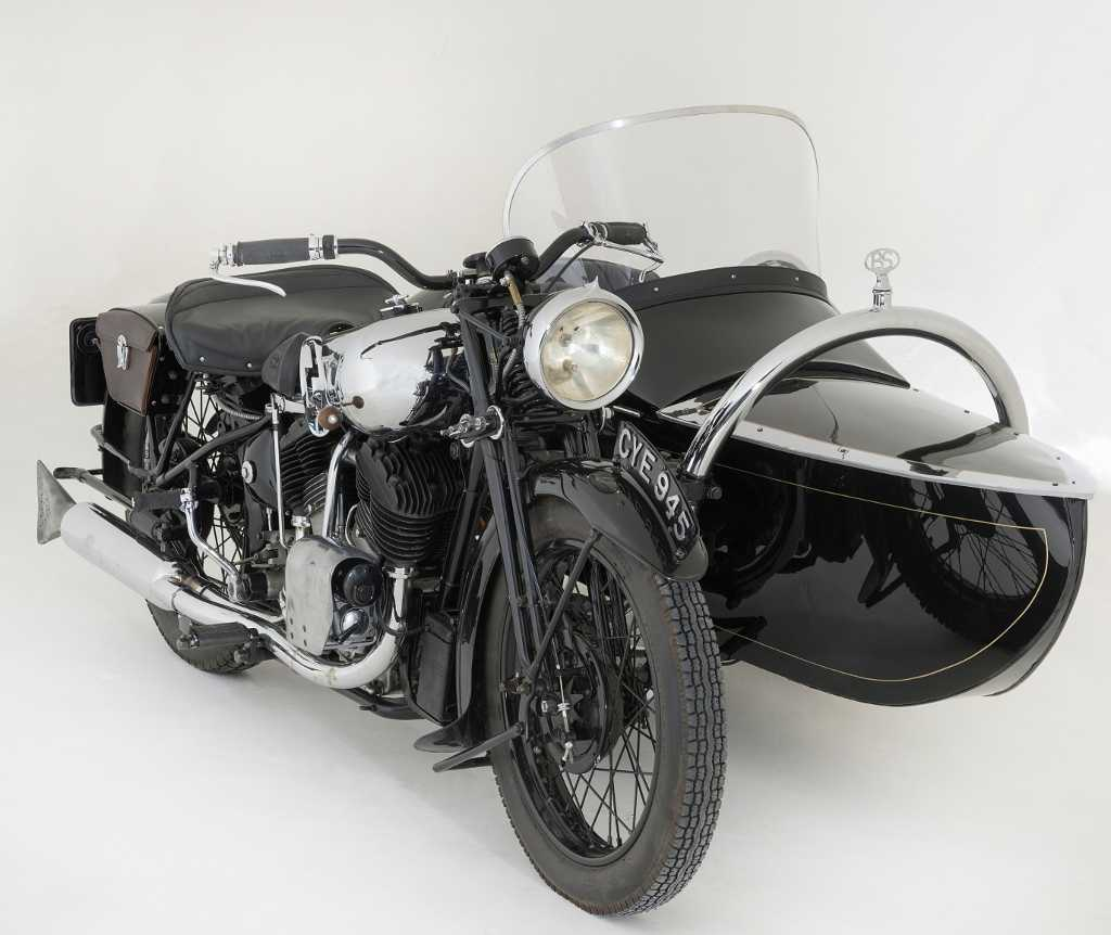 1936 Brough Special Motorcycle Combination