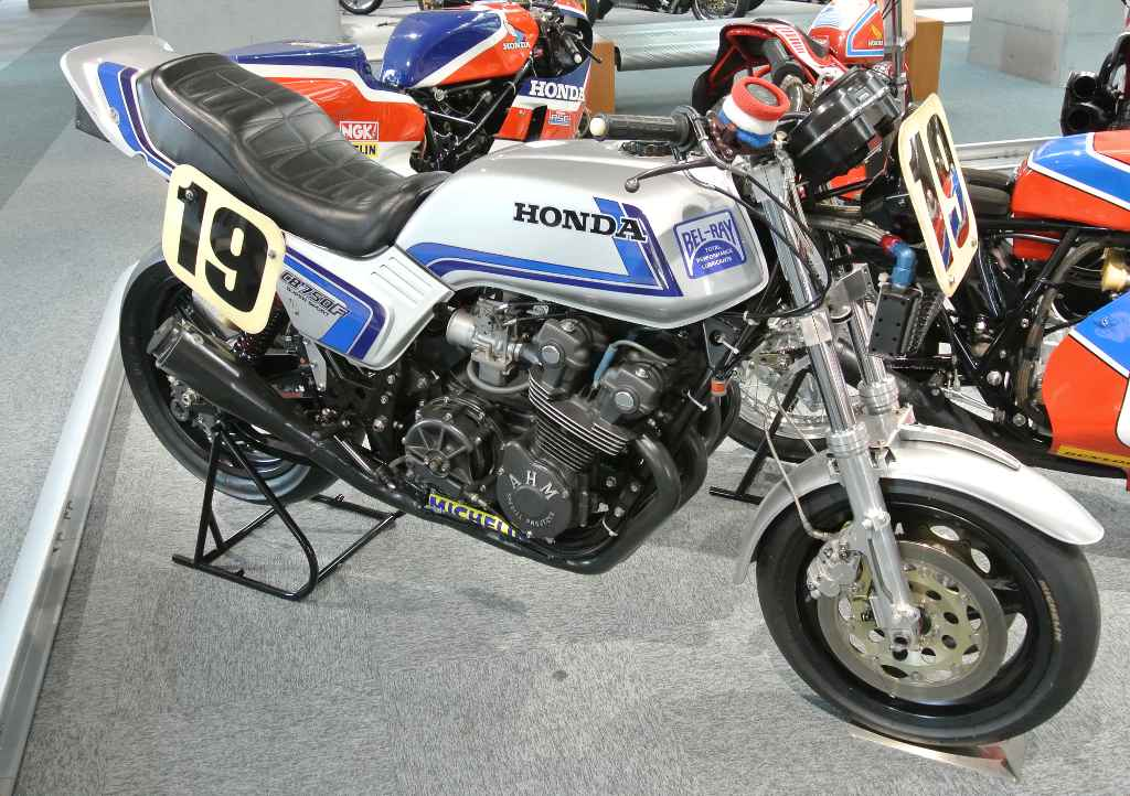 1982 Honda CB750F in the Honda Collection Hall