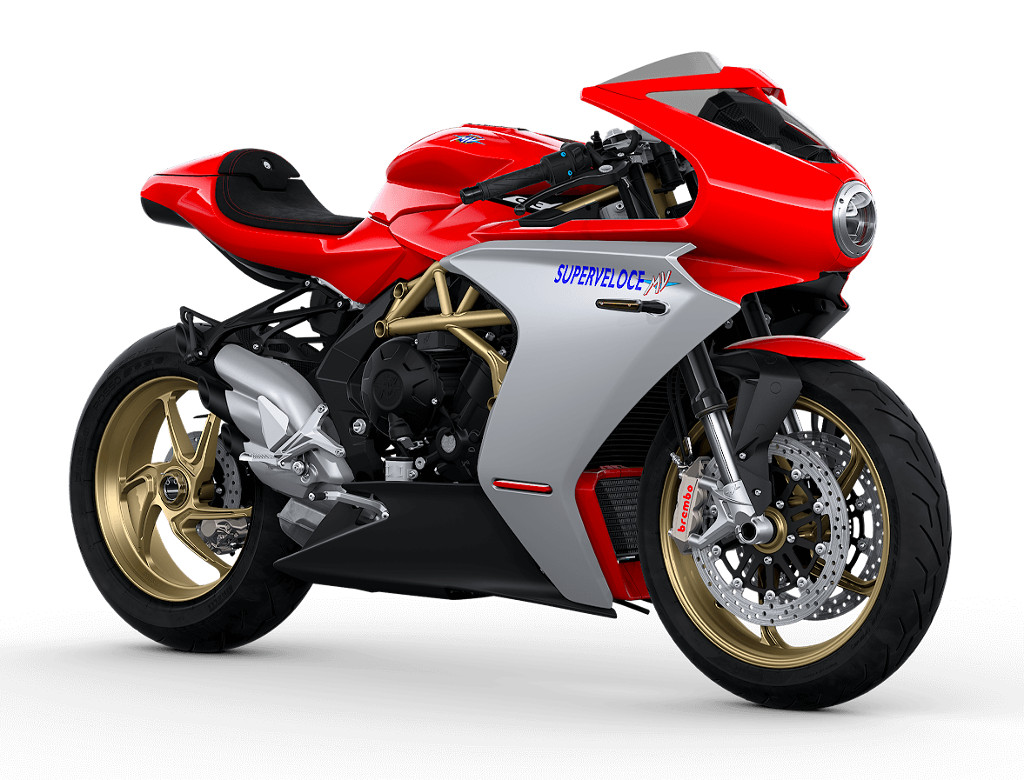 2020 MV Agusta SuperVeloce 800 in Ago Red-Silver