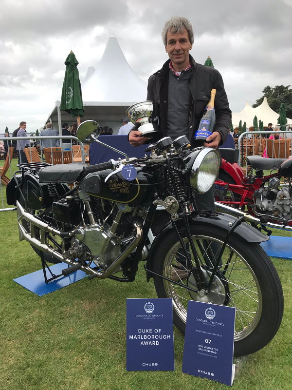 Allen Millyard at Salon Privé 2019